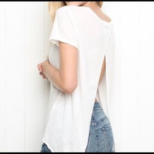 brandy melville open-back top